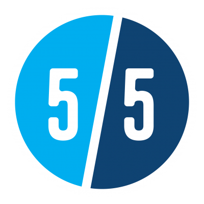 Fifty Five South Ventures Branding