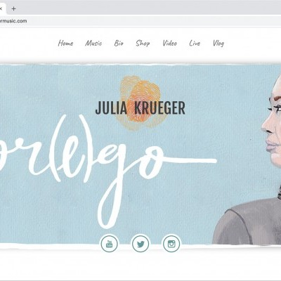 Julia Krueger Music Website