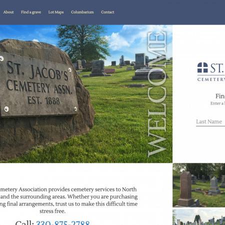 St. Jacob's Cemetery Web App