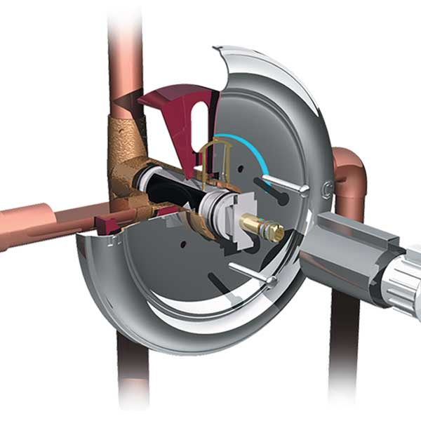 Exploded View Faucet Illustration