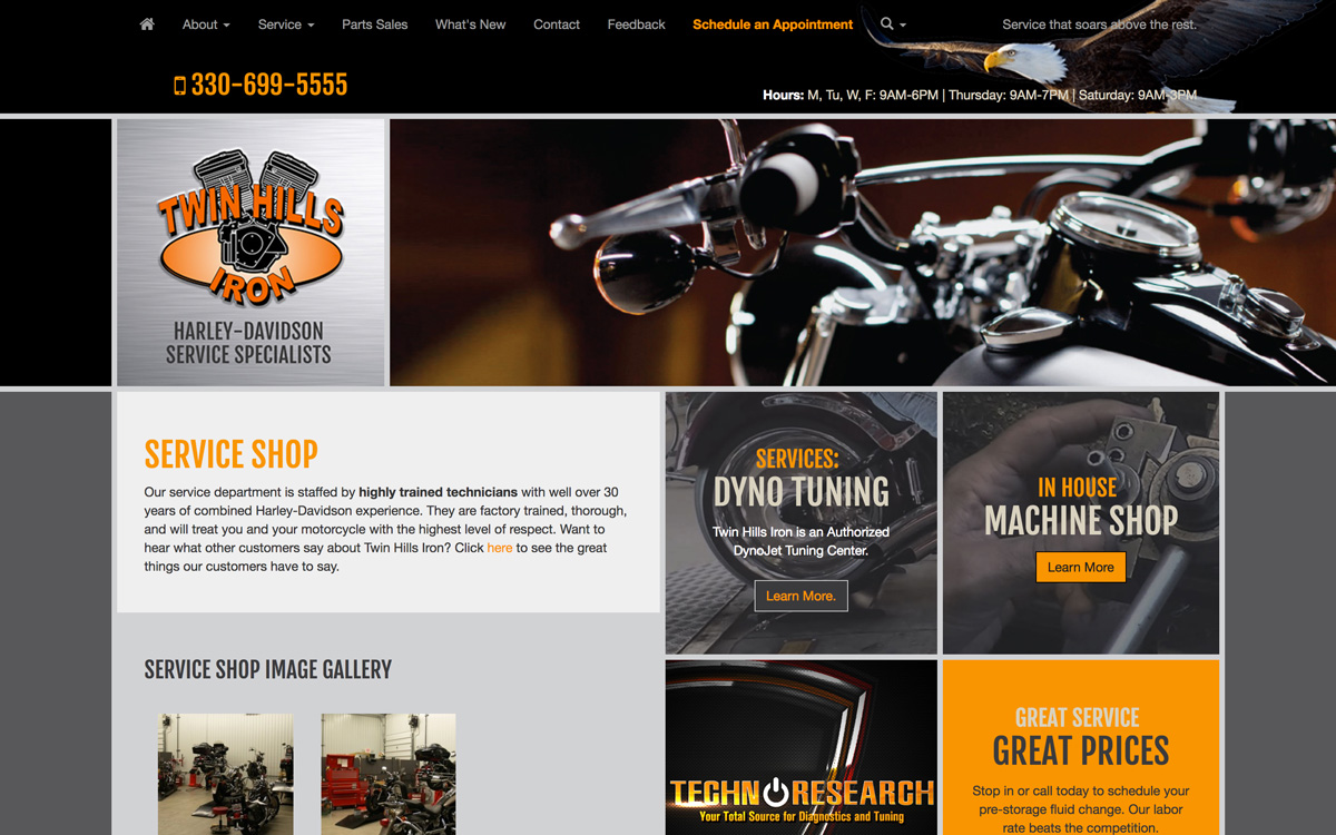 Service Page Twin Hills Iron